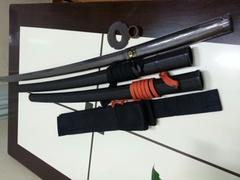 居合道入門セット(道着、袴、居合帯&一般木刀&プラスッチク鞘)