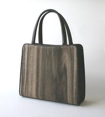 トート型 木のバッグ(大)