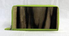 黒柿 ラウンド財布