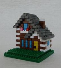 トンガリ屋根の家GB