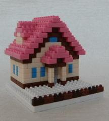 三角屋根の家PF