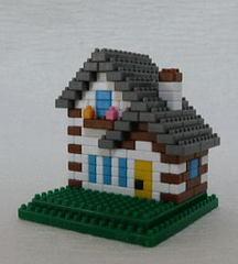 トンガリ屋根の家GW