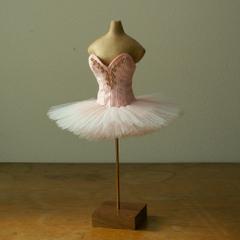 ミニチュアバレエ衣装*ピンク