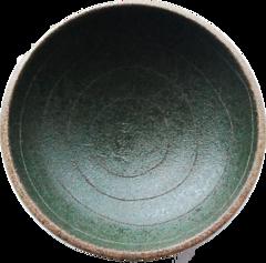天草陶石 お清め皿 緑色