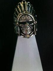 インディアンシルバー指輪
