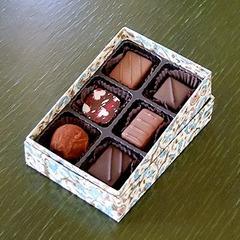 自家製チョコレート 6個入りボックス