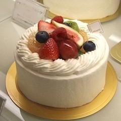 <ご来店受け取り専用品>ホールケーキ・シャンティーフルーツ4号