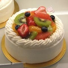 <ご来店受け取り専用品>ホールケーキ・シャンティーフルーツ5号