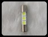 LED電球 T6.3 × 31mm 白色