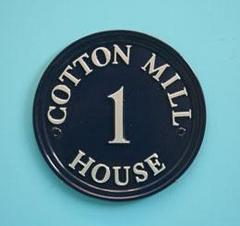 ハウスサイン round 円形 22.8cm径