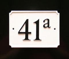 ナンバーサイン french style フレンチスタイル W17.7cm x H12.7cm(モチーフ不可)
