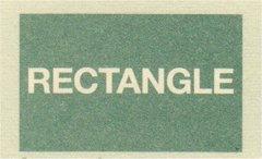 ハウスサイン rectangle 長方形 W30.5cm x H12.7cm
