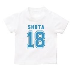 お名前入りTシャツ*ベビーサイズ <No.BT310>