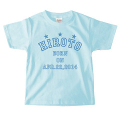 お名前入りTシャツ*キッズサイズ <No.KT171>