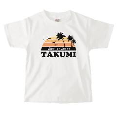お名前入りTシャツ*キッズサイズ <No.KT309>