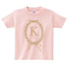 イニシャルTシャツ*キッズサイズ <No.KT360>