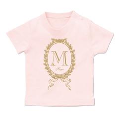 イニシャルTシャツ*ベビーサイズ <No.BT345>