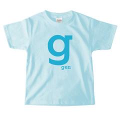 イニシャルTシャツ*キッズサイズ <No.KT358>