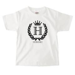 イニシャルTシャツ*キッズサイズ <No.KT359>