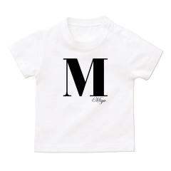 イニシャルTシャツ*ベビーサイズ <No.BT342>