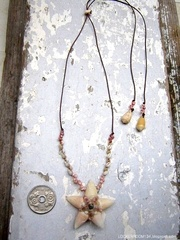 Cone & Zakuro Shell Flower Top kahelelani Necklace