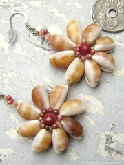 Big Cowry Flower Kahelelani Pierce No,4