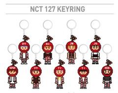 テイルNCT127 CherryBombキーリング