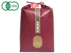 JAS有機栽培(自然栽培) ミルキークイーン 5kg 玄米/白米(元年産)