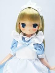 23-21cm用メイドドレス(水色)