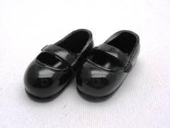 ストラップ靴(11cm)黒
