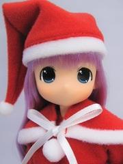 ちっちゃなもこちゃん サンタさん(紫髪)