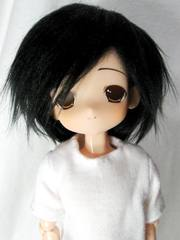 ホワイトBOX乙女いおり(ブラック、ボア髪)