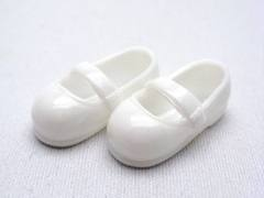 ストラップ靴(11cm)白