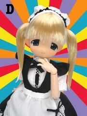 なぁなちゃん「おっきな武器メイド D黒服(金髪 笑顔版)」