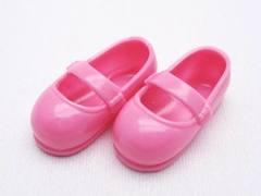 ストラップ靴(11cm)ピンク