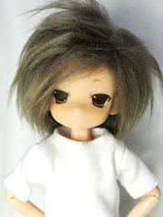 ホワイトBOX蒼月ろう(ブラウン、ボア髪)