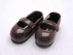 ストラップ靴(11cm)茶