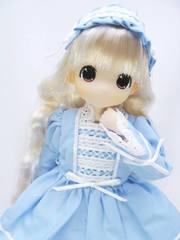 23-21cm用ロリータドレス(水色)