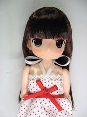 ホワイトBOXちぃちちゃん (赤茶髪、ロング)