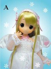 ちっちゃなもこちゃん「天使 Aピンクホワイト(金髪 笑顔版)」