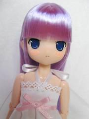 ホワイトBOXちぃちちゃん(紫髪、ロング)