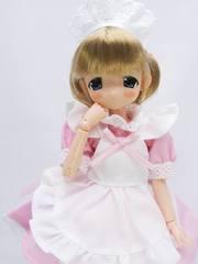 23-21cm用メイドドレス(ピンク)