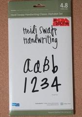 【フリマ】 QuicKutz 4×8 Handwriting