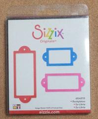 【フリマ】 Sizzix ダイ bookplate