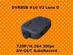 DVR808 #16 V3 Lens D★高画質 720P H.264