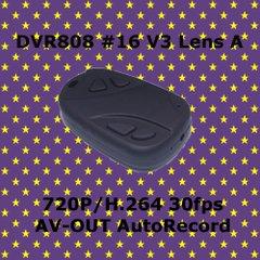 DVR808 #16 V3 Lens A 小型キーレス型カメラ