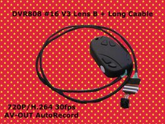 DVR808 #16 V3 Lens B + Long Cable