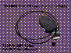 DVR808 #16 V3 Lens A + Long Cable