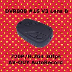 DVR808 #16 V3 Lens B 小型キーレス型カメラ