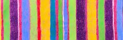 郷家啓子デザインの布 love stripe 黄色 1.2mカット